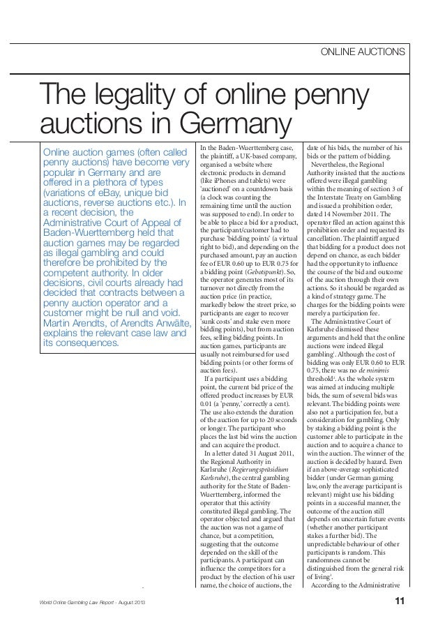 In the Baden-Wuerttemberg case, the plaintiff, a UK-based company, organised a website where electronic products in demand...