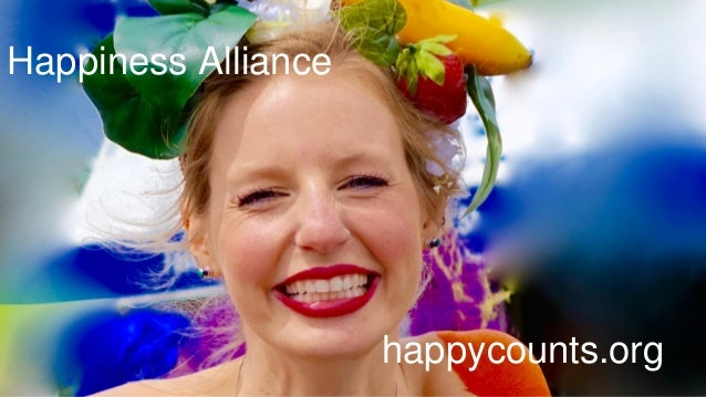 Happiness Alliance happycounts.org