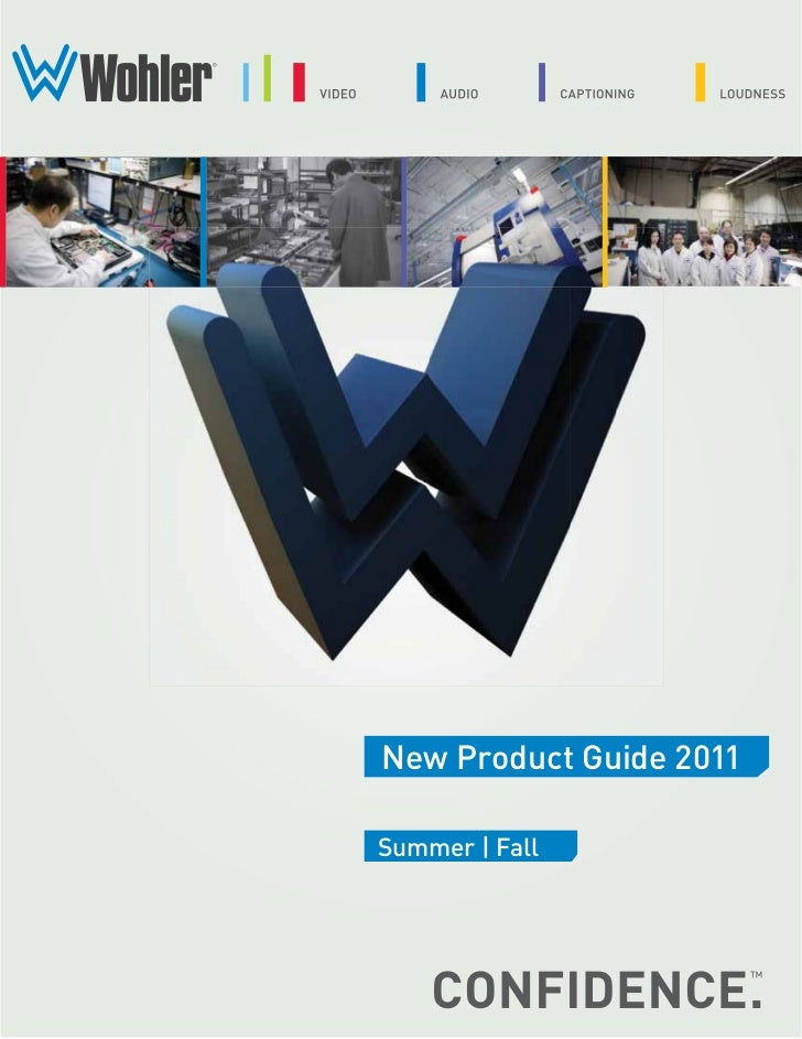 New Product Guide 2011Summer | Fall