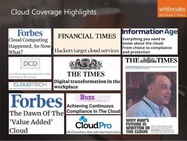 Whiteoaks International - Cloud Computing Creds Slide 2