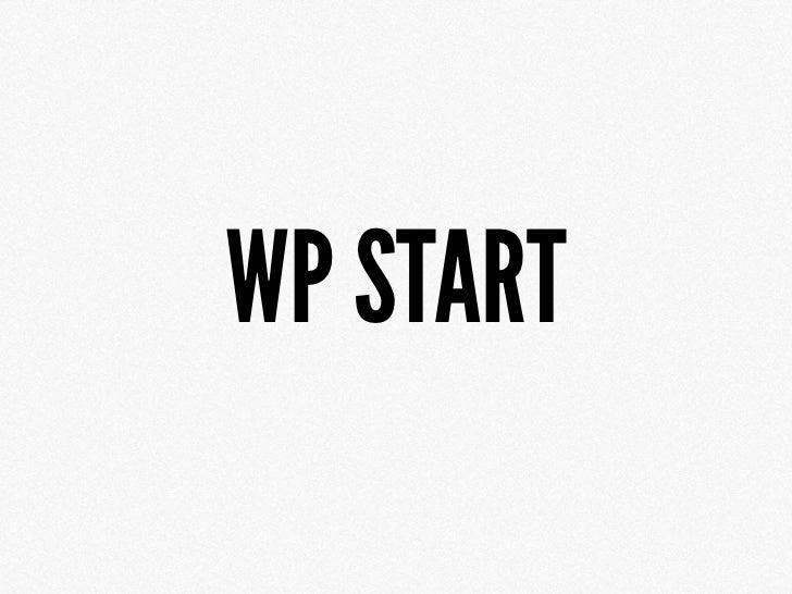 WP START