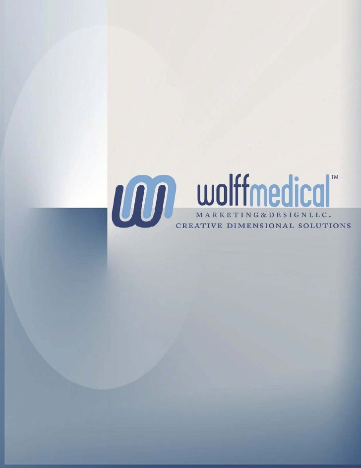About Wolff MedicalOur history as designers and manufacturers of pharmaceutical promotionalproducts dates to the early 198...