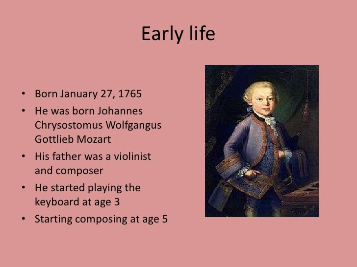 Hey Kids, Meet Wolfgang Amadeus Mozart | Composer Biography