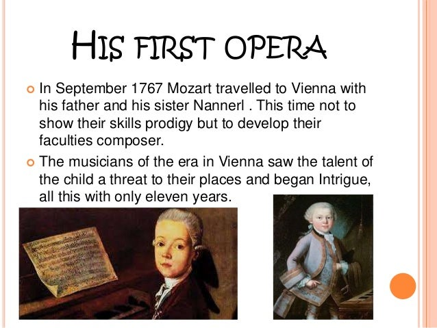 The early life and masterpieces of wolfgang amadeus mozart