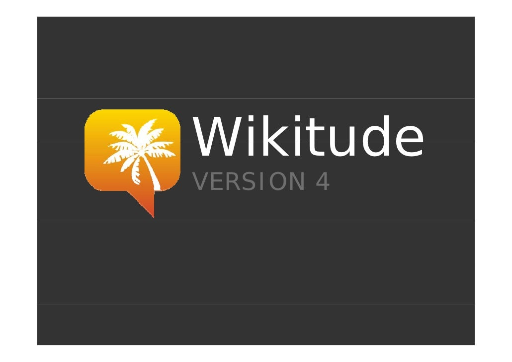 Wikitude VERSION 4