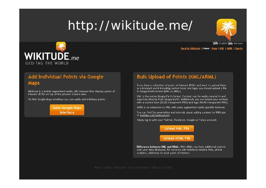 http://wikitude.me/    p //           /