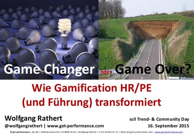 © get performance | www.get-performance.com | Seite 1© get performance | pik AG | Holbeinstrasse 34 | CH 8008 Zürich | Wol...