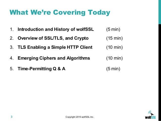 Securing Data in Transit -  Slide 3