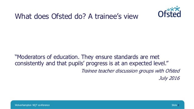 What Ofsted does: the facts and the myths Slide 2