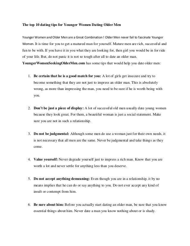 Top 10 tips for dating — img 1