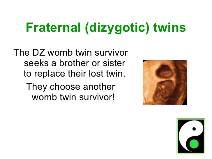 Womb Twin Survivors 2 - Relationships