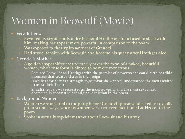 "beowulf movie and poem difference Free essay: the comparison of ""beowulf"" and ""13th warrior"" beowulf is an epic poem written a long time ago the 13th warrior is pretty much a movie based on."