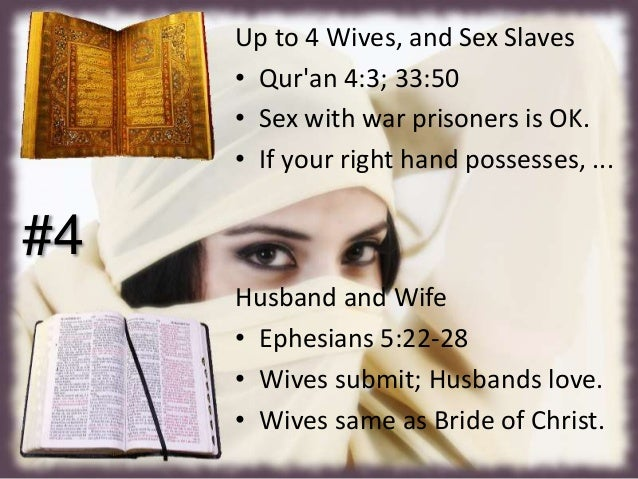women compared in quran and bible