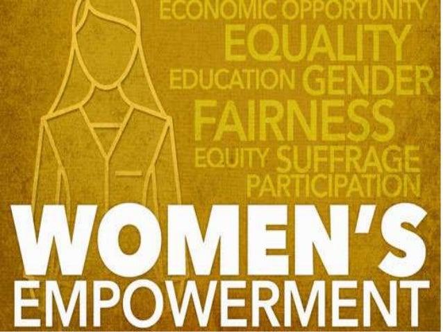 Women Empowerment >> Women Empowerment