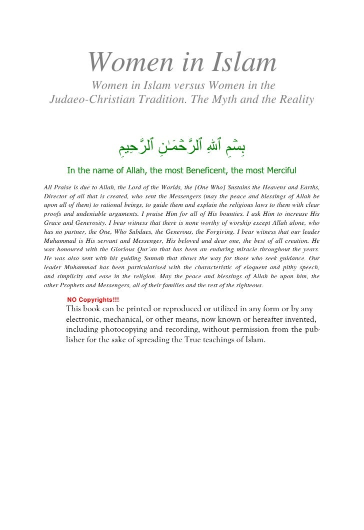 the myth and reality of polygamy in islam 5 common myths about islam propagated perpetuate this action as part of islam in reality to dispel this myth that suicide terrorism and islam are.