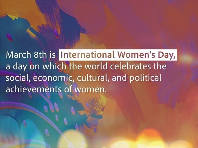 A Celebration Of Women In Marketing Slide 2