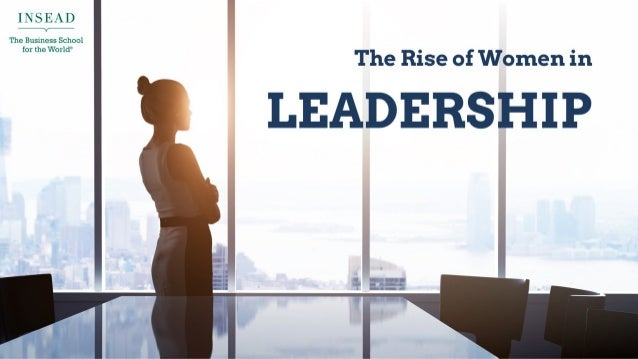 The Rise of Women in Leadership