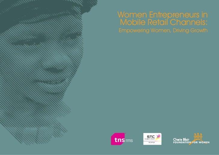 Women Entrepreneurs inMobile Retail Channels:Empowering Women, Driving Growth                                   3