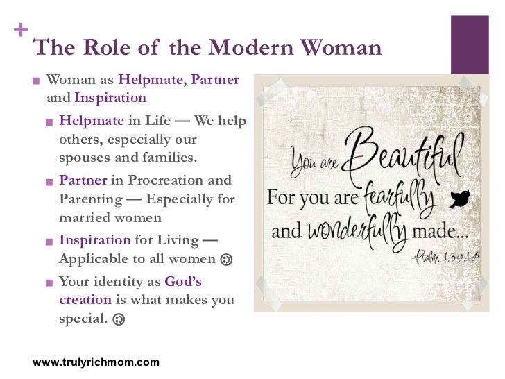 the role of the wife