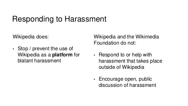 Women harassment wikipedia