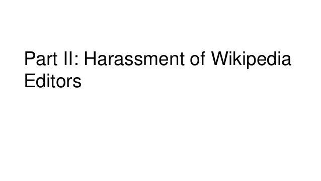 Women harassment wikipedia
