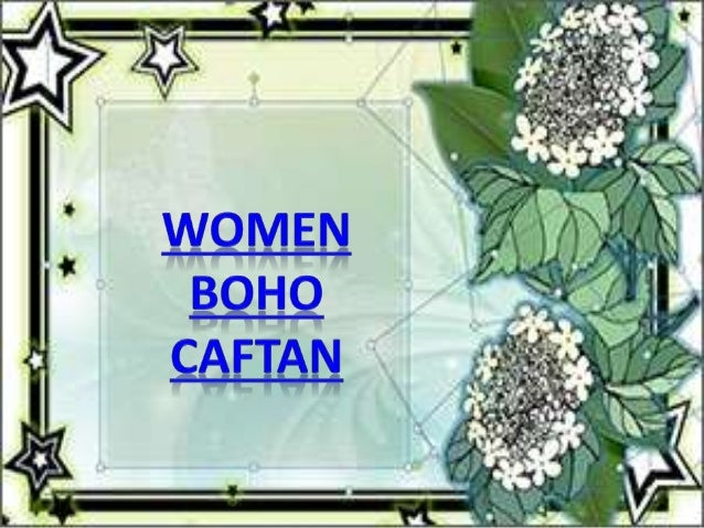 Women boho caftan dress by mogulinterior
