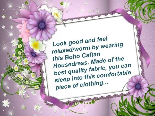 Women boho caftan dress by mogulinterior Slide 2