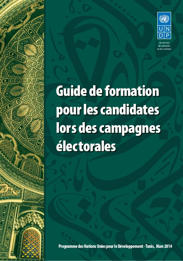 Guidedeformation pourlescandidates lorsdescampagnes électorales Guidedeformation pourlescandidates lorsdescampagnes électo...