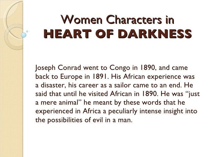 joseph conrad characters