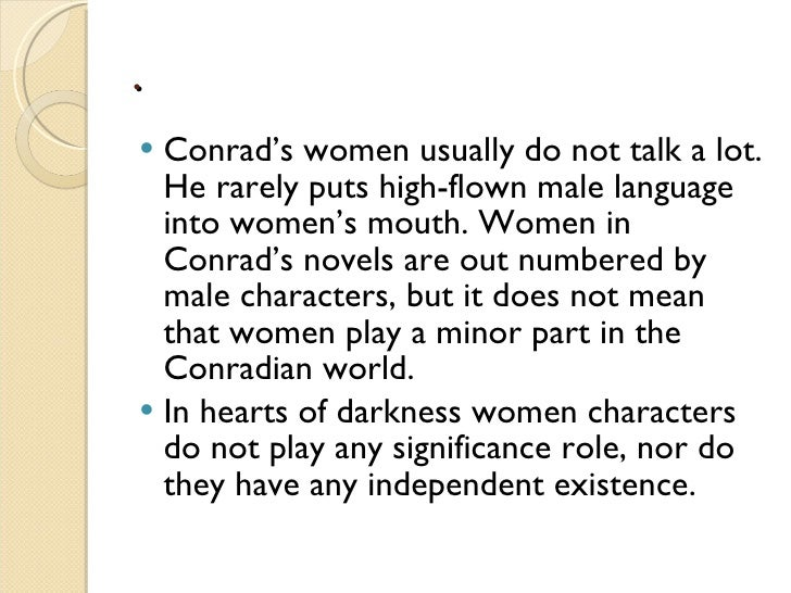 an analysis of the character marlow in the heart of darkness by joseph conrad In this lesson, we will look at some aspects of marlow, the main character of joseph conrad's 'heart of darkness' the lesson will then conclude.