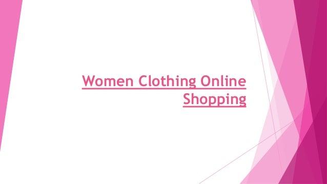 Women clothing online shopping