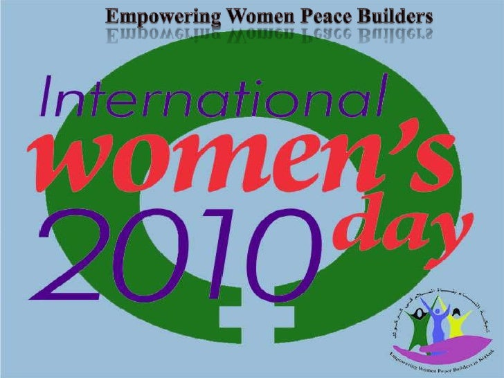 Empowering Women Peace Builders<br />