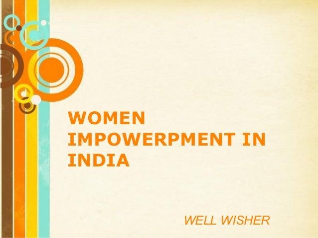 Women empowerment essay ppt templates