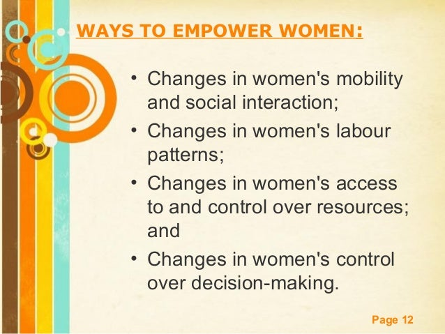 women empowerment with introduction conclusion 1328 words essay on women's empowerment in india to achieve empowerment women have to be educated to be aware of their rights and privileges in a modern society.