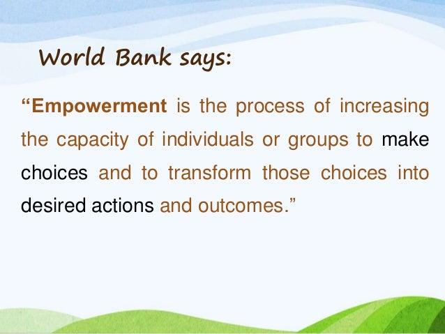 Superb Women Empowerment Definition
