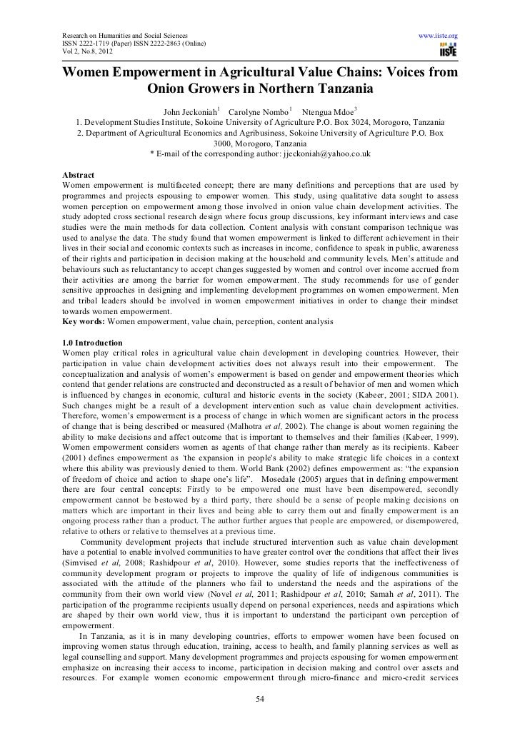 Research on Humanities and Social Sciences                                                             www.iiste.orgISSN 2...
