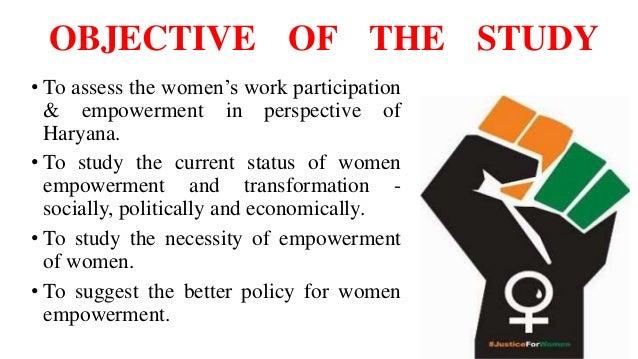 Term paper on women empowerment