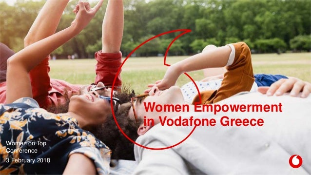 Women Empowerment in Vodafone Greece Women on Top Conference 3 February 2018