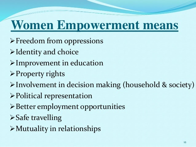 education means of empowerment A philosophical analysis of the concept empowerment the fundament of an education-programme to the frail elderly anne merete hage rn candsan phd student nurse, and this does not mean that the empowerment strategy is a.