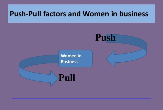 push and pull factors in business