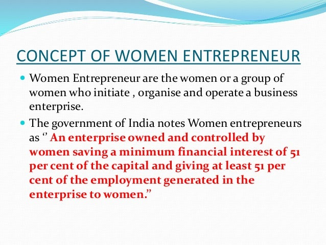 problems and prospects of women entrepreneurship Problems ○ limited access to economic resources: women entrepreneurs   research of the reality: challenges and prospects of women entrepreneurs .