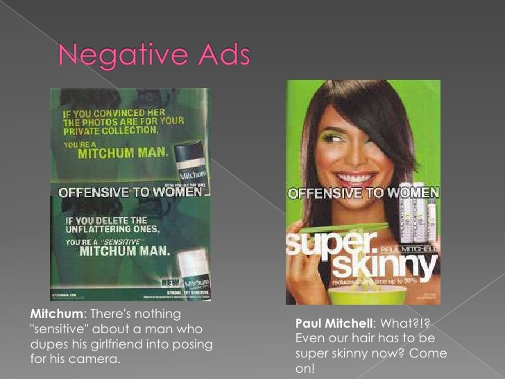 womens advertisements negative effects What are the negative impacts of advertising on society read this informative article to find out.