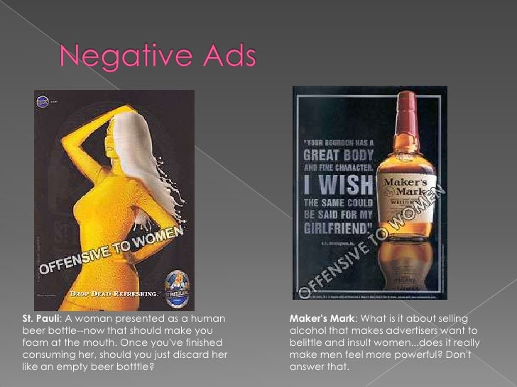 womens advertisements negative effects Body-image pressure increasingly affects boys  they are also at increased risk for a variety of negative  and the negative effects can be particularly.