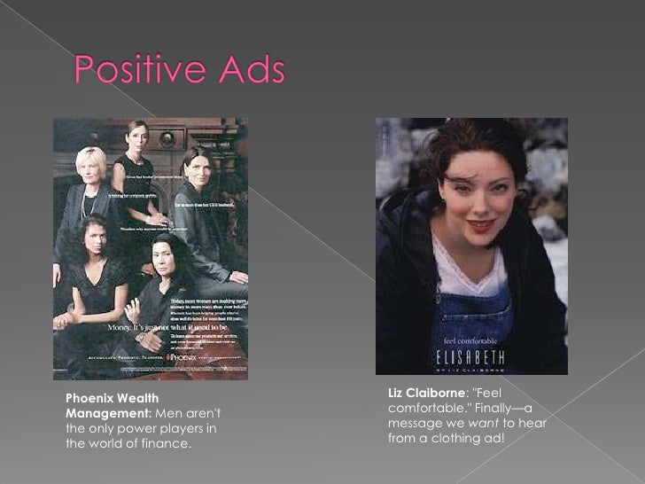 Positive stereotypes advertising