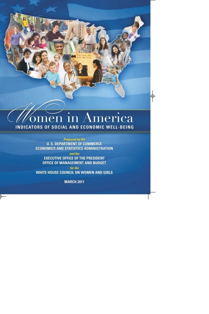 WOMEN IN AMERICAIndicators of Social and Economic            Well-Being                    March 2011                     ...