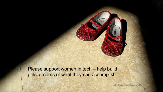 ® © 2016 MapR Technologies 3® © 2016 MapR Technologies 3 Please support women in tech – help build girls' dreams of what t...