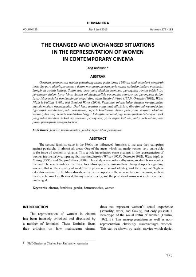 175 Arif Rohman - The Changed and Unchanged Situations in the Representation * Ph.D Student at Charles Sturt University, A...