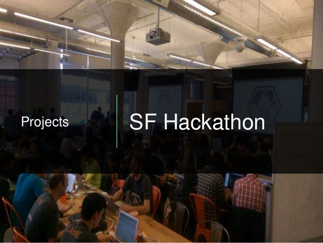 Projects SF Hackathon