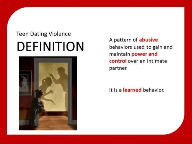 Dating violence definition california