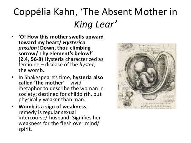portrayal of women in king lear While king lear remains one of shakespeare's most celebrated and complex  even women have cast  the portrayal of family in pericles and king lear author.